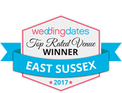 Wedding Dates Awards East Sussex Winner 2017