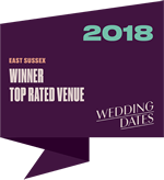 Wedding Dates Awards East Sussex Winner 2018