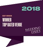 Wedding Dates Awards East Sussex Winner 2018
