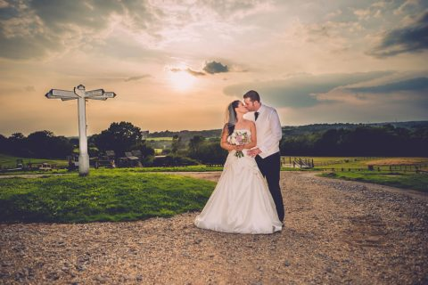 A Romantic Shot Amongst The Grounds