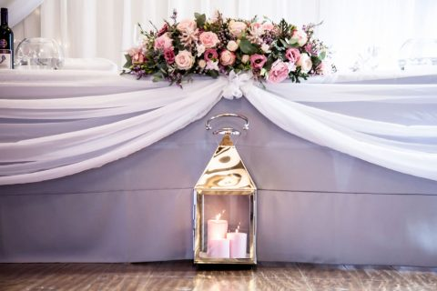 Candles In The Reception By FitzGerald Photographic