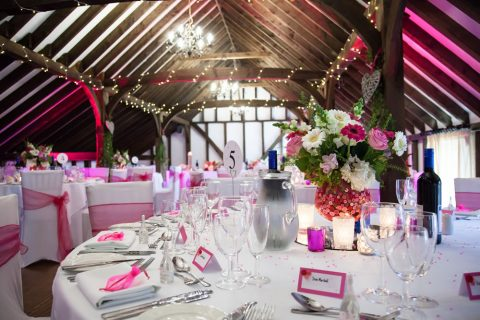 Wedding Breakfast In The Tudor Barn By FitzGerald Photographic