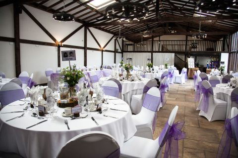 Wedding Breakfast In The Granary By FitzGerald Photographic