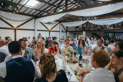 Wedding Breakfast In The Granary