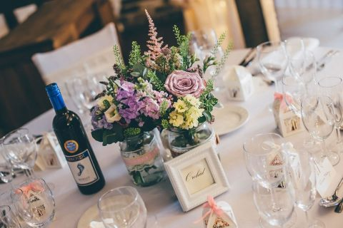 Floral Table Decor By Matthew Page Photography