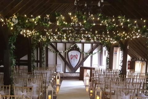 Ceremony In The Tudor Barn