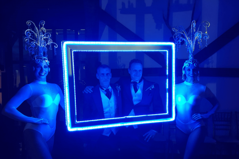 Glowing Photo Frames
